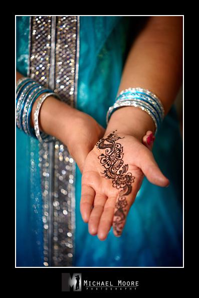 Indian wedding, henna