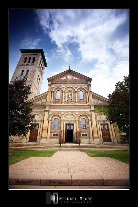St. Paul's Basilica, Toronto, wedding