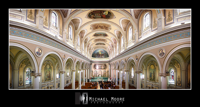 wedding, St. Paul's Basilica, Toronto Ontario