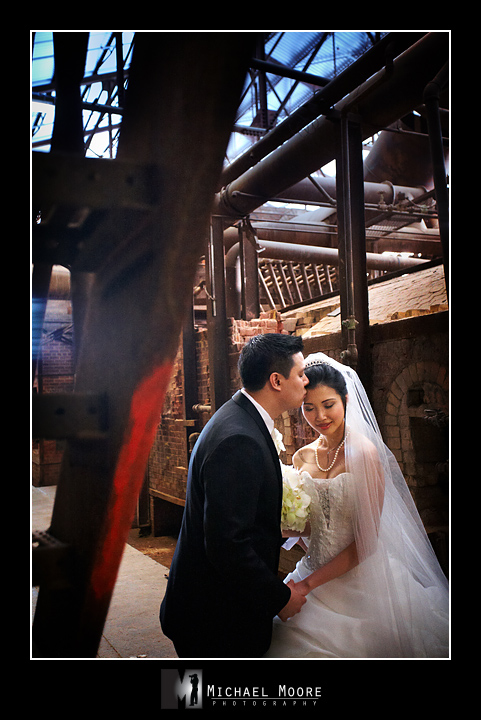 evergreen brickworks, wedding, toronto