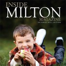 Inside Milton Magazine Cover and Article